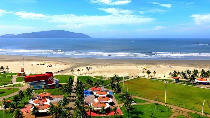 Apartamento com Vista Para o Mar e Tranquilidade