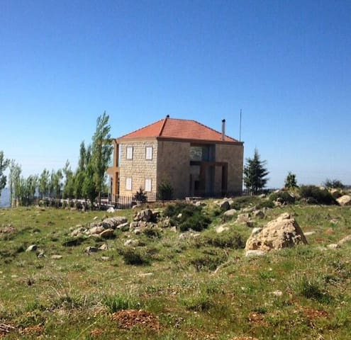 Cozy house in Qanat Bakish Mountain - Jabal Lubnan - Haus