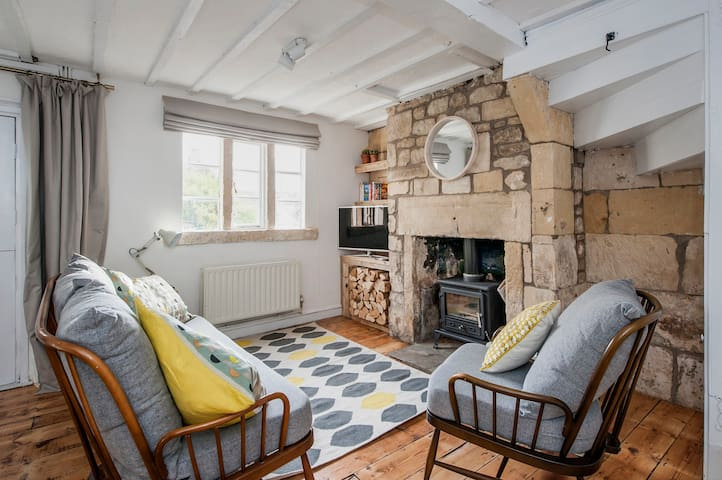 Charming Period Cottage - Batheaston - Hus