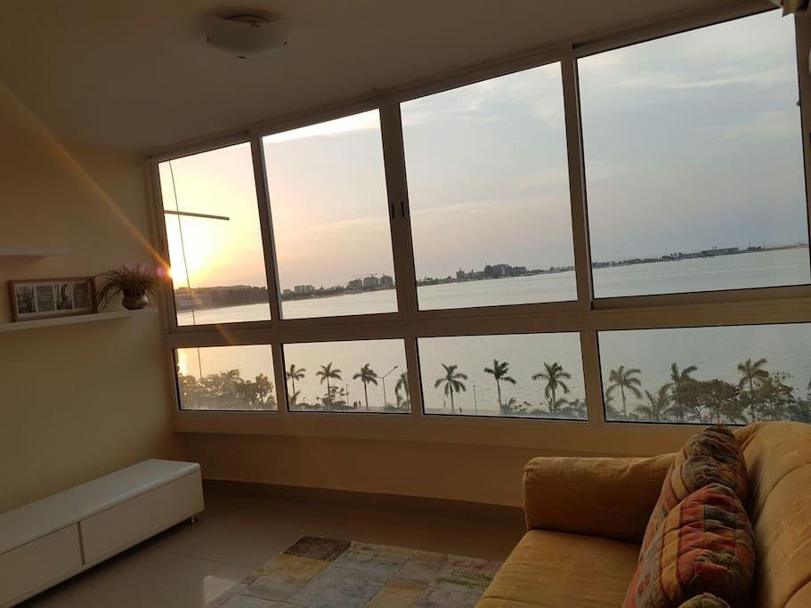 Vista Mar do apartamento