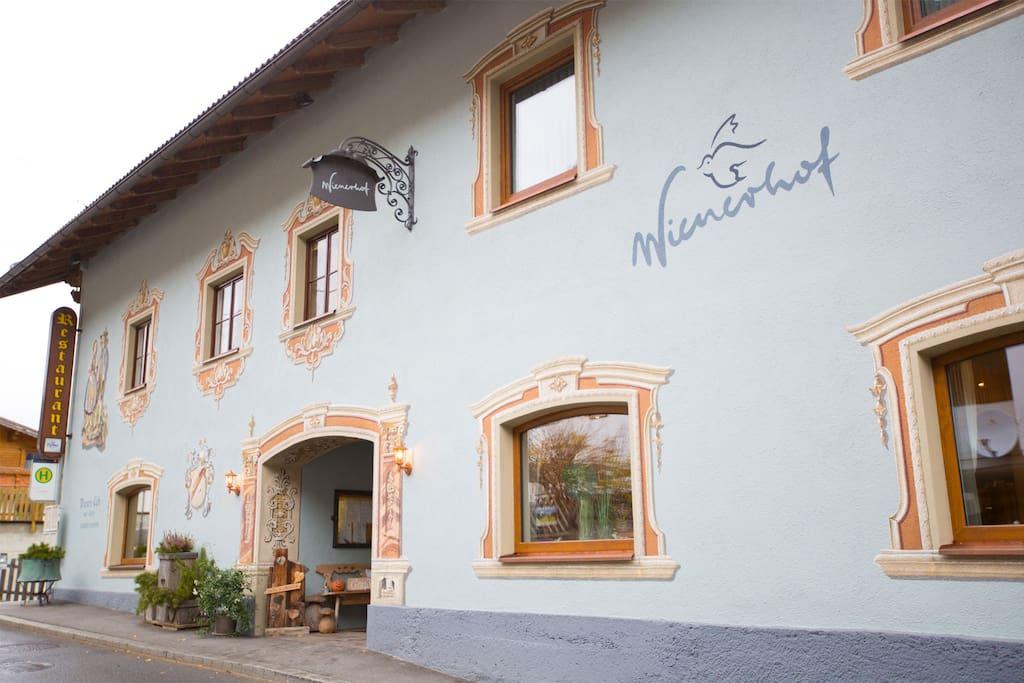 Außenansicht Hotel Wienerhof