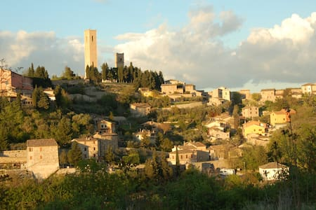 B&B La Quercia Blu - San Severino Marche - 단독주택