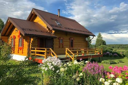 Уютный дом с 3 спальнями и баней около Владимира