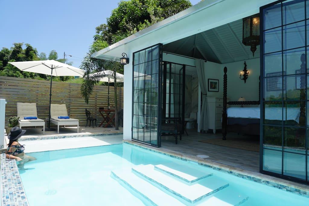 Private Pool Suite 3 Casa Florencia Wi-fi