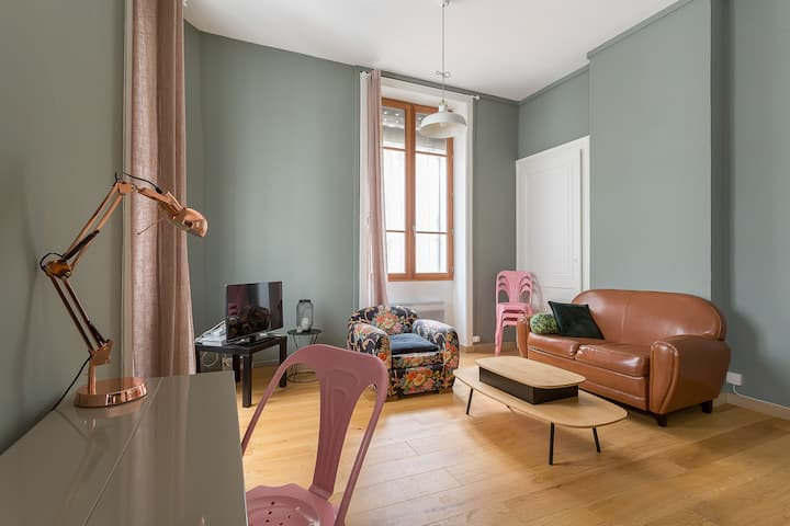 ⁂ Lovely apartment for 2 people LYON 6 ⁂