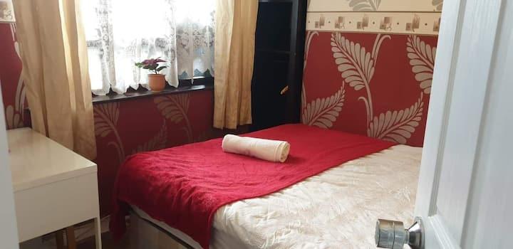 lovely  bedroom in kings cross St.Pancras