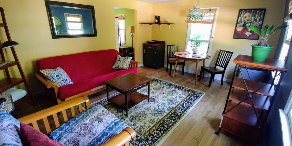 Colorful & private 2-room suite!