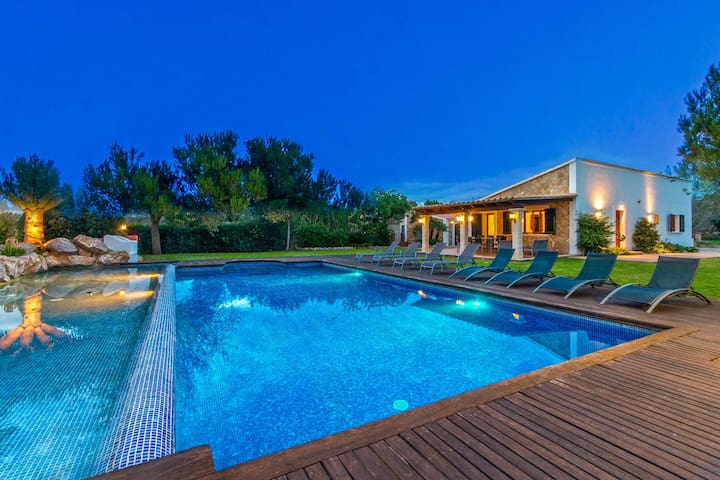 Villa with Spectacular Pool Area & Bar - Mal Pas-Bon Aire - 別荘
