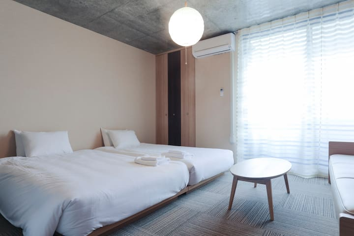 2017 Newly Built Apt! 13 mins from Kyoto St. (401) - Nakagyo Ward, Kyoto - Serviced flat