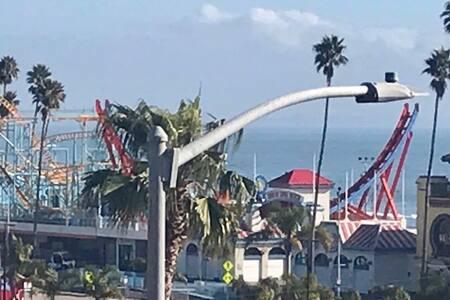 Near Beach, Boardwalk, Pier, Restaurants.