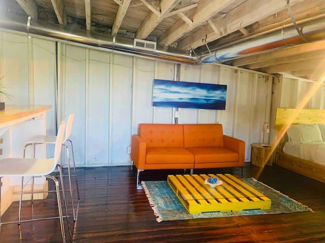 Vintage Attic Loft studio near Otr/Uc