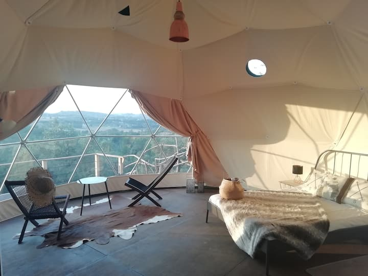 Italys 1st Geodome Glamping Retreat