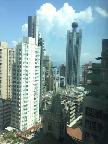 Spacious room in the heart of Hong Kong - Hong Kong Island - Daire
