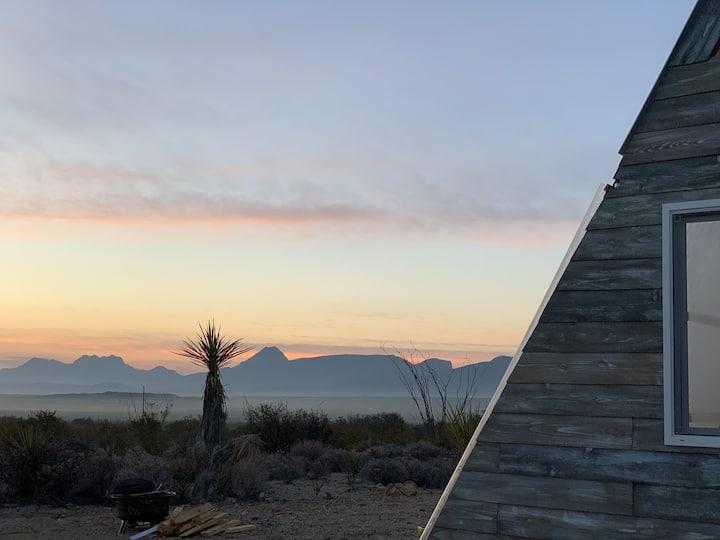 """A"" spot in the Desert @ Tres Arroyos -Aframe"