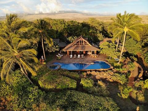 Beach 69, Puako - Oceanfront Family View Home