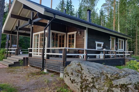 Villa with beautiful lakeviews close to Helsinki