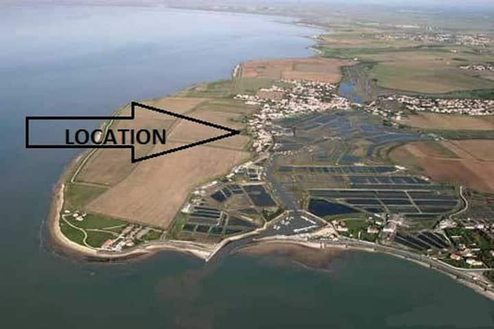 La Rochelle, Maison climatisée à 7km , 2 étoiles