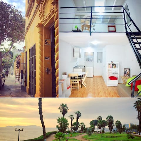 Cozy Apartment in Beautiful Barranco Neighborhood - Distrito de Lima