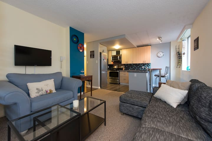 Clean & bright near Lions Gate - North Vancouver - Apartmen