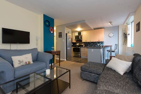 Clean & bright near Lions Gate - North Vancouver - Wohnung