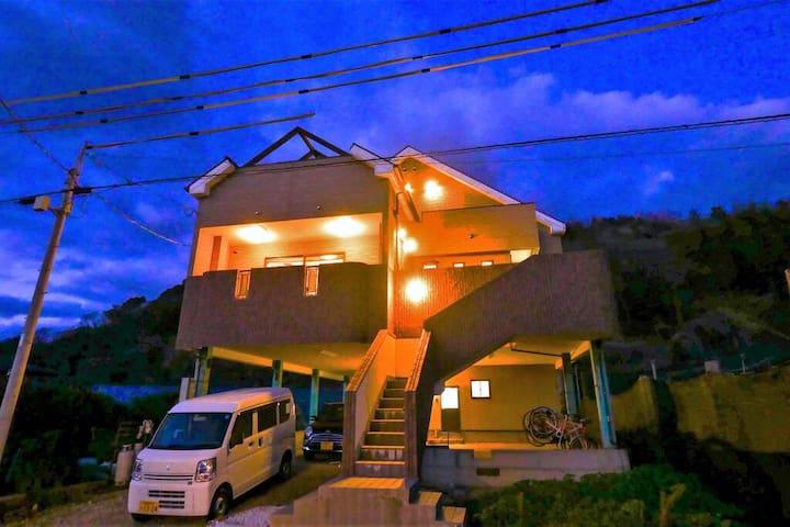 THE BONDS Ⅱ1軒屋丸ごと貸し切り!心洗う夕日を眺める宿