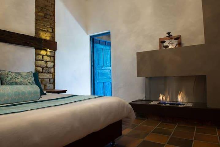 Habitación Azul Mediterraneo - Hotel Cinco Tierras