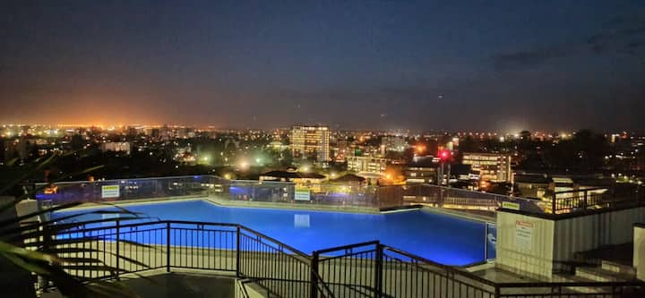 2 bedroom nairobi apartment with rooftop pool