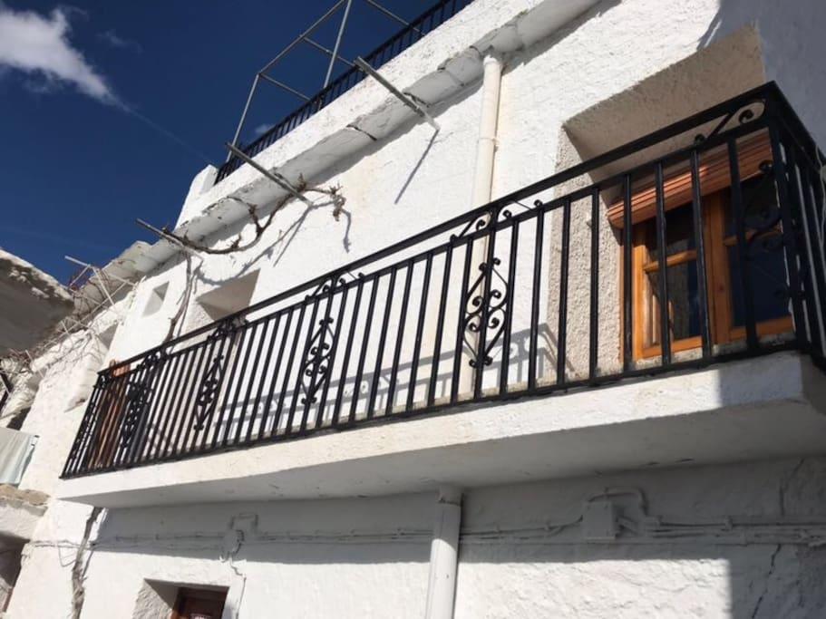 Balcon de la vivienda