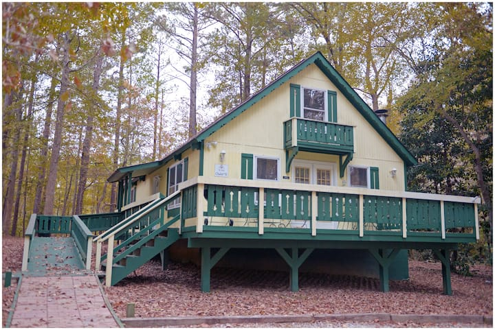 Cabin with Fishing Lake. And lots of amenities including putt-putt, tennis and much more.  - Offlake Three Bedroom #51 - Not Pet Friendly