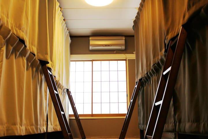 ✿GUEST HOUSE SaKURa✿ 全12ベッド用意《2/12》1階♬【CAFÉ & BAR】