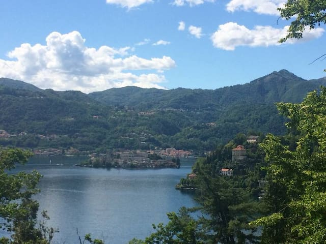 IL BOSCO apartment with a breathtaking view of the lake