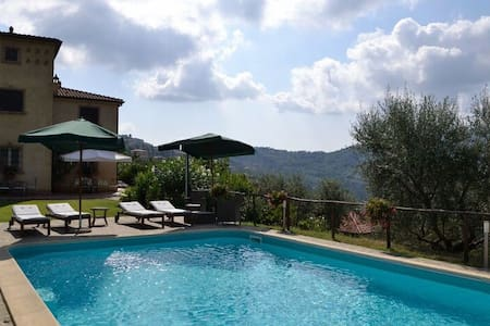 Stunning villa with private pool, bbq and SPA - Torchiara - Villa
