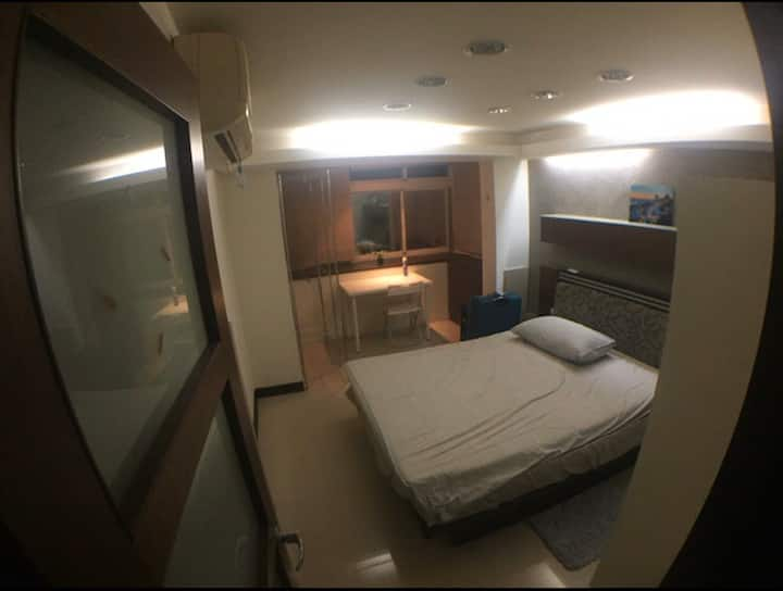 Comfortable Double Bed in 2 floor apartment