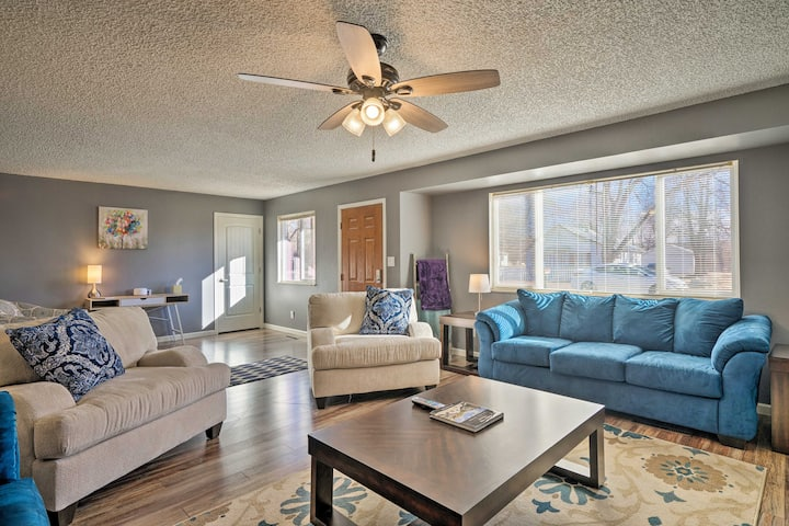 Pet-Friendly Home - Minutes to Royal Gorge!