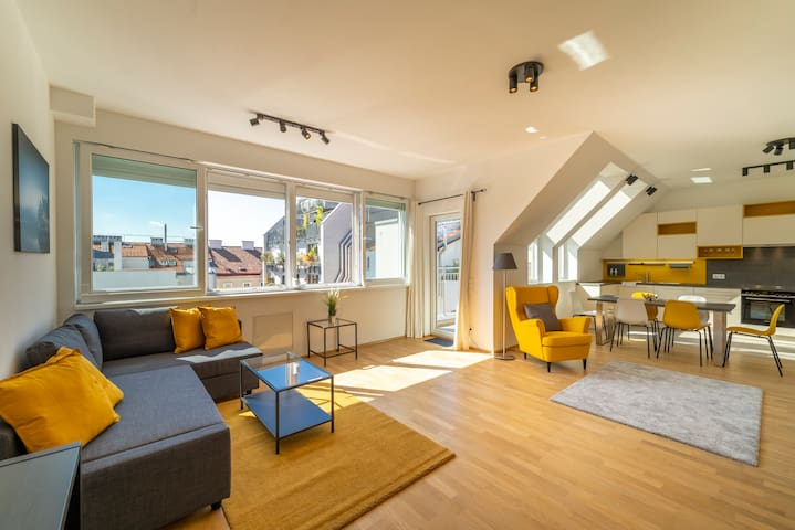 The Viennese Rooftop Dream in a prime Location