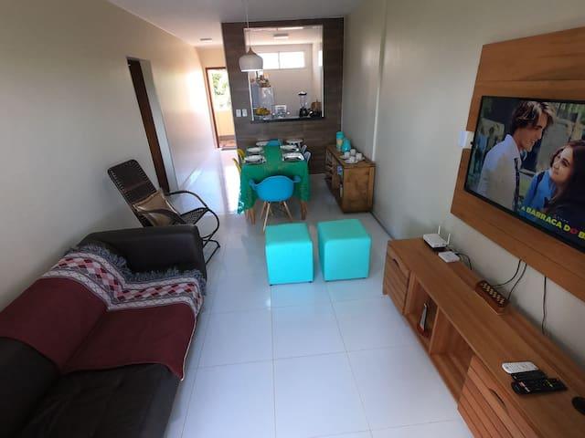 Ótimo Apartamento - Barra de São Miguel - Alagoas