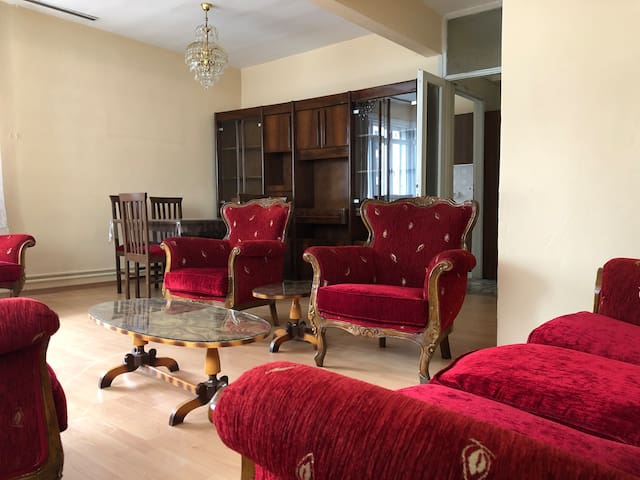 Vintage Large Apartment in center of Asian Side