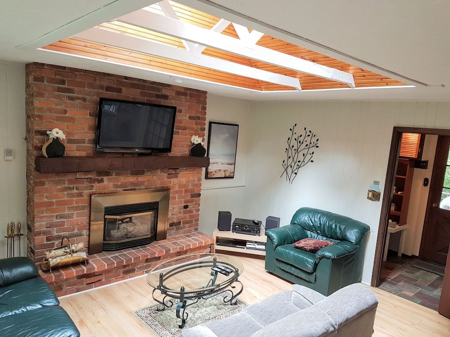 Lots of natural light throughout entire cottage