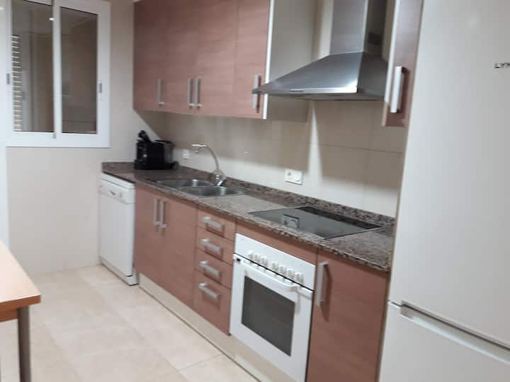 Apartamento espacioso Delta del Ebro. Camarles