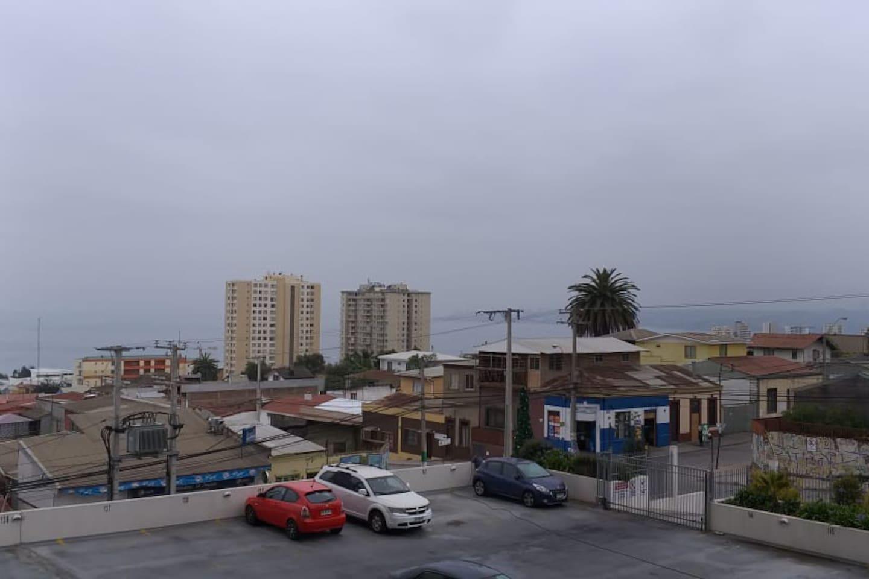 Vista desde el balcón Hacía la costa