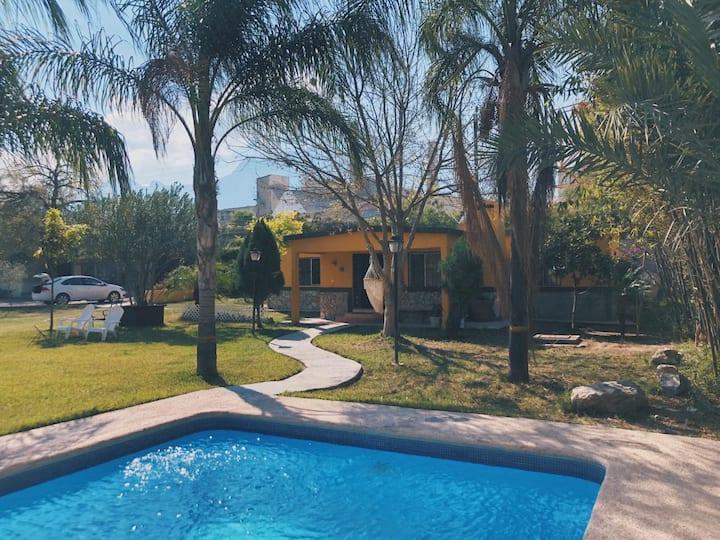 Rustic and comfortable quinta near Potrero Chico