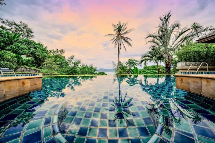 Glasshouse Phuket   Walk to beach   Sea views (6B)