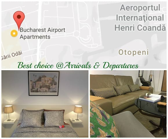 Welcoming Condo Apartment @ Otopeni Airport - Otopeni - Apartment