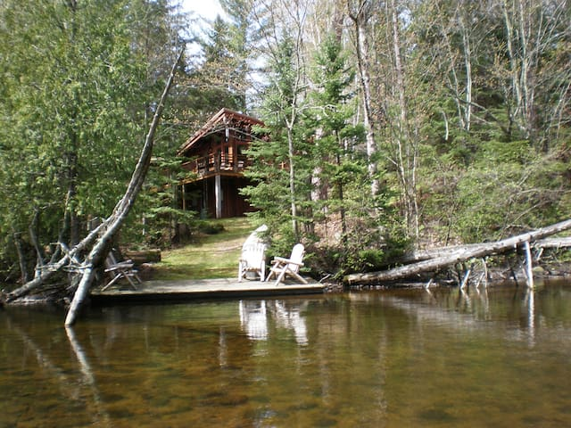 Brule River Lodge, upper Brule, WI