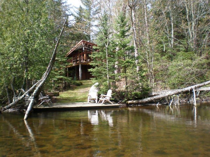 Brule River Lodge, upper Brule, WI