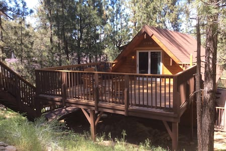 Log cabin 90 min. from LA - Pine Mountain Club - House