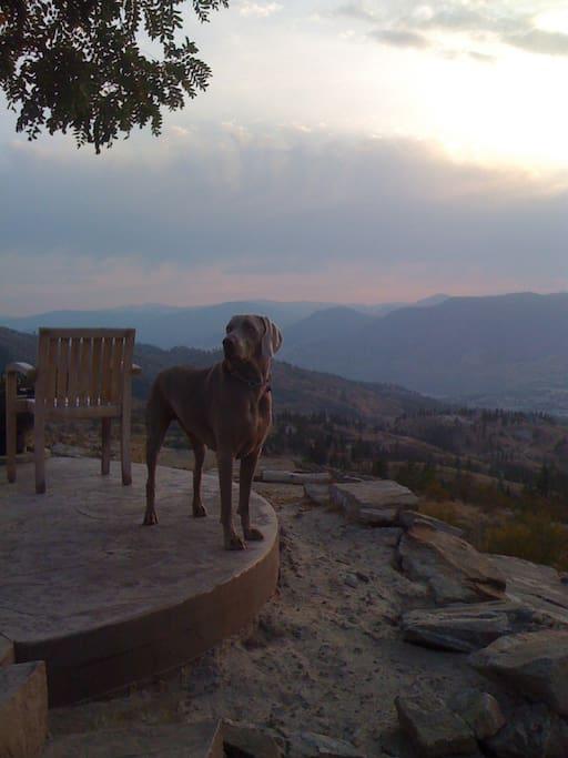 Enjoying the mountain
