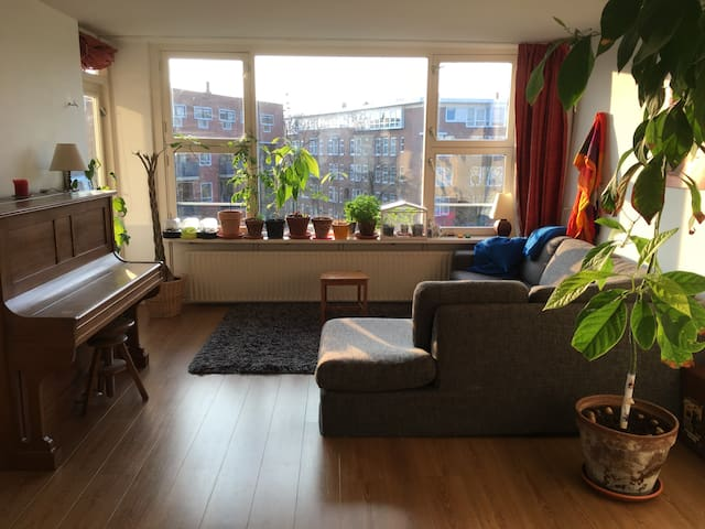 Spacious and bright apartment, Amsterdam East - Amsterdam - Apartment