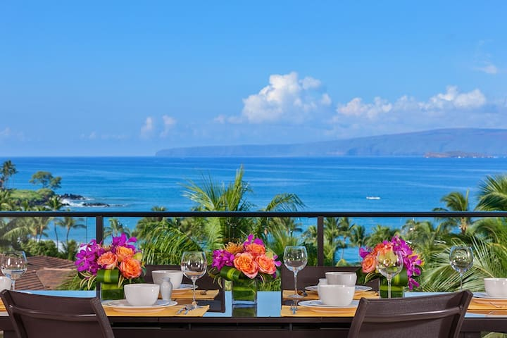 APRIL SAVINGS:VACATION IN YOUR OWN PRIVATE MAUI PARADISE! Mer Et Soleil K408, Ocean Views!