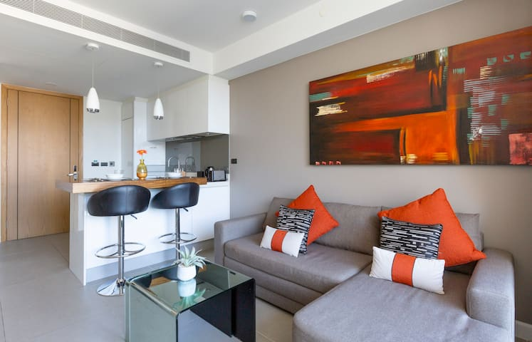 Chic and comfy apartments in new condo Oceanstone ❤️ BangTao Beach (204)